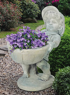 Petite Flower Boy Planter