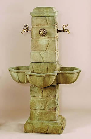 Quattro Rustichella Fountain for Spouts