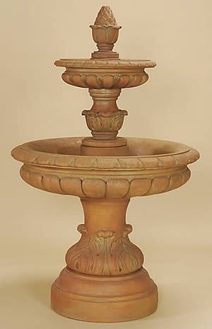Rosea 2-Tiered Fountain
