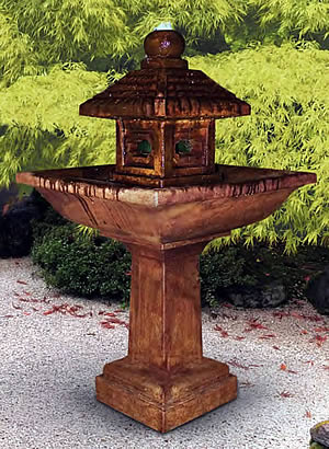 Japanese Lantern Fountain