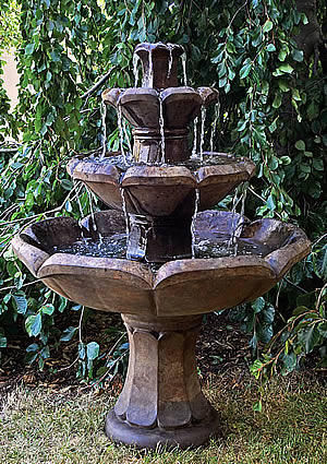 Montreaux 3-Tiered Fountain