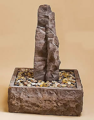 Small Sedona Rock Water Feature