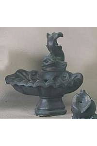 Small 1-Tiered Fish Fountain