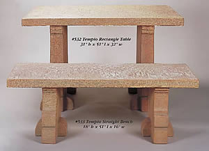 Tempio Rectangular Table