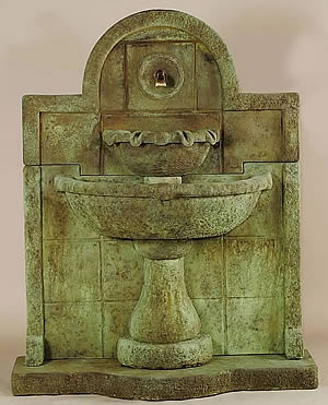 Terme del Foro Wall Fountain For Spout