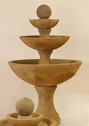 Terso 3-Tiered Fountain
