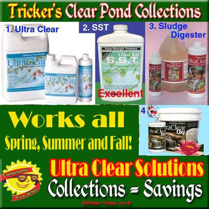Clear Pond Collections 4-7: UltraClear and UltraClear Oxy Collections