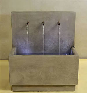 Tribus Flatwall Fountain