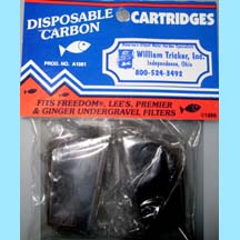 Tricker Undergravel Disposable Carbon Cartridges