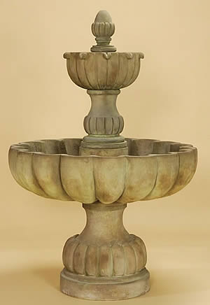 Short Urbino Grande 2-Tiered Fountain