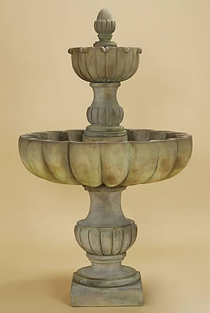 Tall Urbino Grande 2-Tiered Fountain