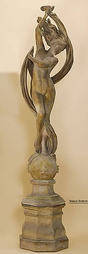 Vestal Dancer Statue