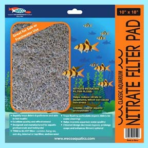Classic Aquarium Nitrate Filter Pads