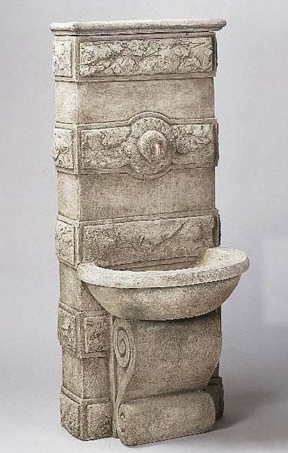 Abetone Fountain. Limestone