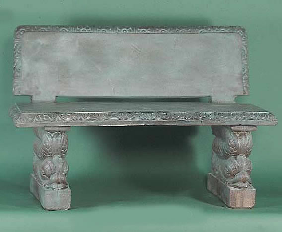 Adriatic Bench . Bronze