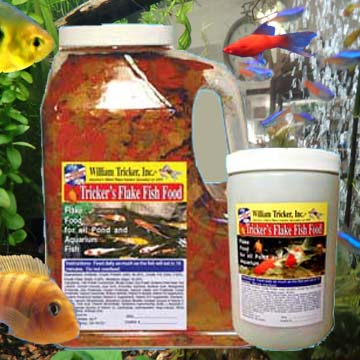 Tricker's Aquarium Flake Fish Food
