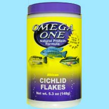 Omega One Cichlid Flake Fish Food