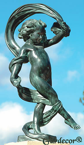 Dancing In The Wind Garden Statue