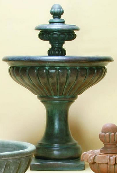 Bergamo Fountain. Bronze