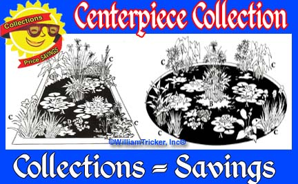 Centerpiece Collection - 8 Shallow Water Plants