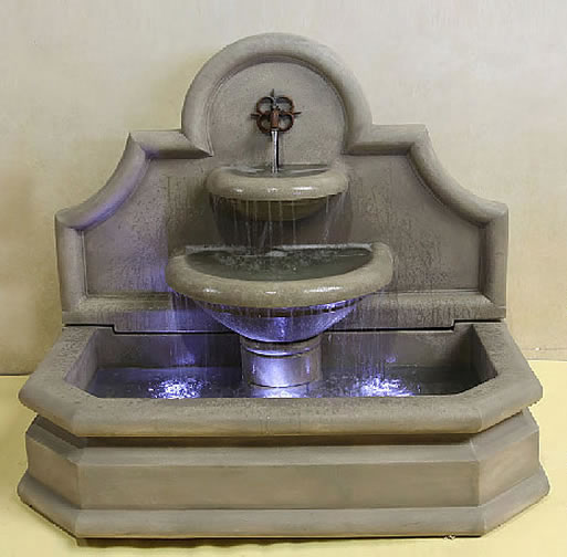 Chantal Fountain. French Limestone