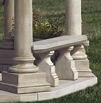 140 Classical Gazebo Bench, 3 pc.