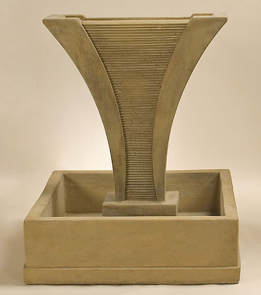 Diesse Fountain with Square Bowl. Vintage