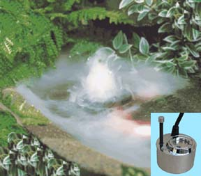 Fogger for Water Garden Displays