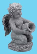 Kneeling Angel with Spout