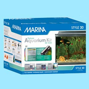 20 Gallon - Marina Style Deluxe Aquarium Kit