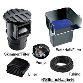 Medium Pond Kit (1000-2500 gallons)