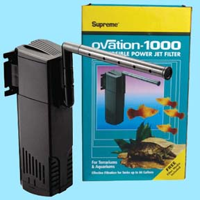 Ovation Submersible Power Jet Filter