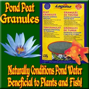Laguna Pond Peat - Clear Water Product