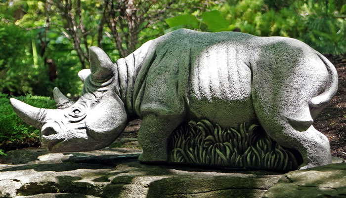 """Hornsby"" the Rhino"