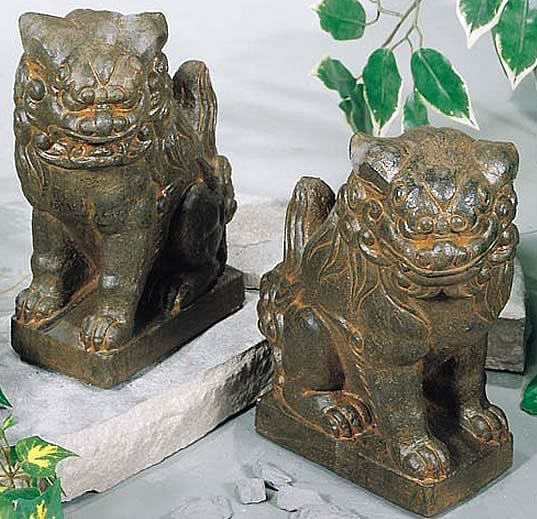 Chinese Foo Dog Statue, Small