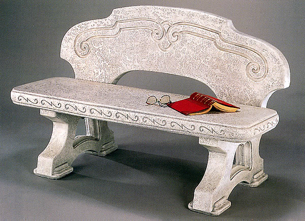 Riolo Garden Bench. Pompeii Antique Ash