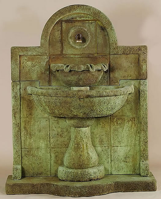 Terme del Foro Wall Fountain For Spout. Antico