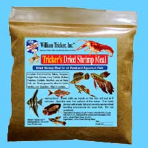 Tricker's Dried Shrimp Meal for Aquariums