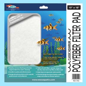 Classic Aquarium Polyfiber Filter Pads